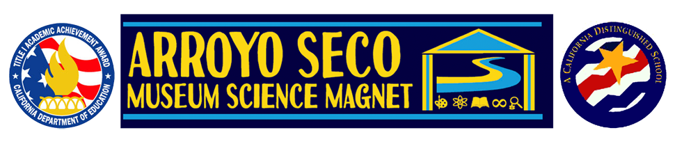 Arroyo Seco Museum Science Magnet  Logo